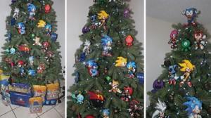 Sonic Christmas Tree