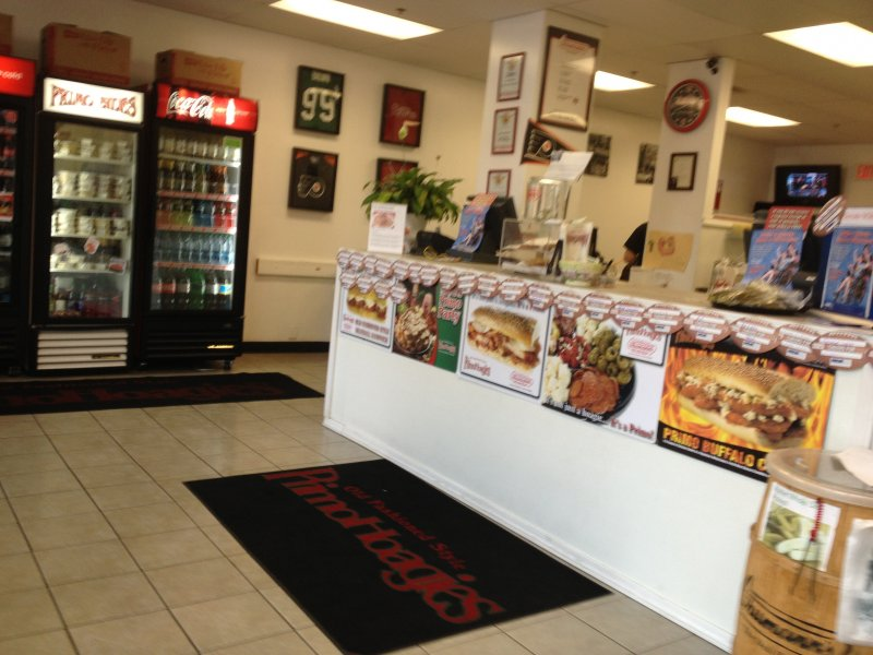 Inside of Primo Hoagie\'s